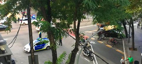 Foto de Falsa alarma: desalojan la Sagrada Familia por una furgoneta con paquete sospechoso