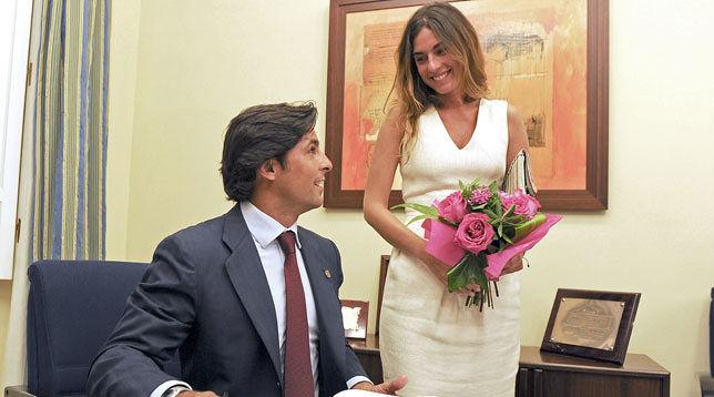 Foto de Francisco Rivera y Lourdes Montes se casan en secreto en el Ayuntamiento de Sevilla