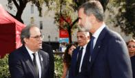 Foto de El MWC vuelve a reunir al Rey con Torra, a pesar del presidente catalán