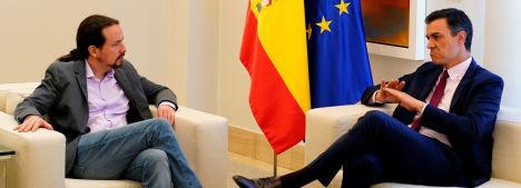 Foto de El líder de Podemos se aparta si no hay más vetos y si Sánchez acepta sus ministros