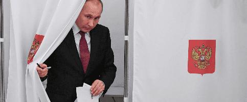 Foto de Putin gana las elecciones de Rusia con un apoyo histórico y una alta participación