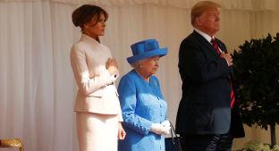 Foto de Todos los detalles del esperado encuentro de Isabel II con Donald y Melania Trump