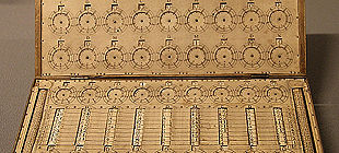 Foto de Una calculadora portátil del siglo XVIII, a subasta en Londres