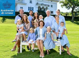 Foto de Solliden, residencia veraniega de la familiareal sueca, el legadode la reina Victoria