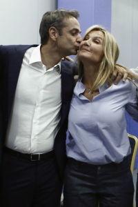 Mareva Grabowski, nueva primera dama griega, una potente empresaria