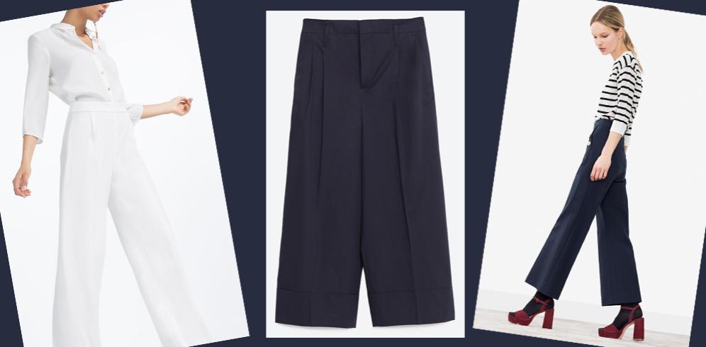 Pantalones anchos, te decimoscuándo usarlos y con qué combinarlos