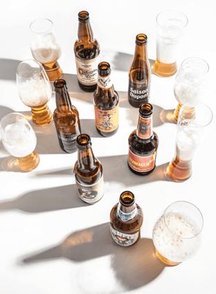 Foto de siete cervezas para el fin de semana