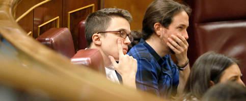 Foto de Iglesias y Errejón chocan otra vez al crear la rama juvenil de Podemos