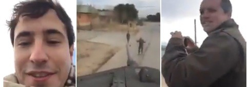 Foto de Un vídeo, un tanque, una amenaza... y la condena de todos los partidos