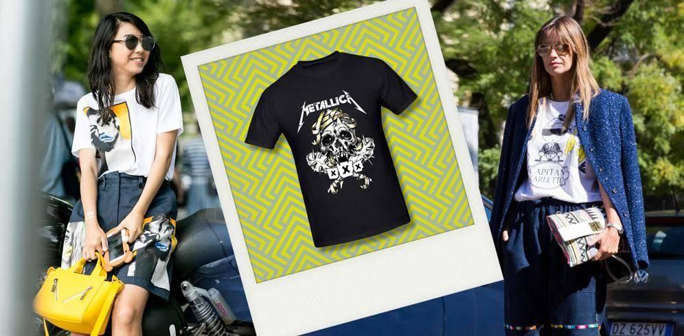 Camisetas estampadas,cómo lucirlas en todas partes