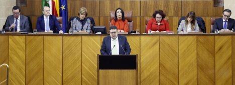 Foto de Serrano (Vox): No se avergüenzan de machistas como Stalin o el Ché Guevara