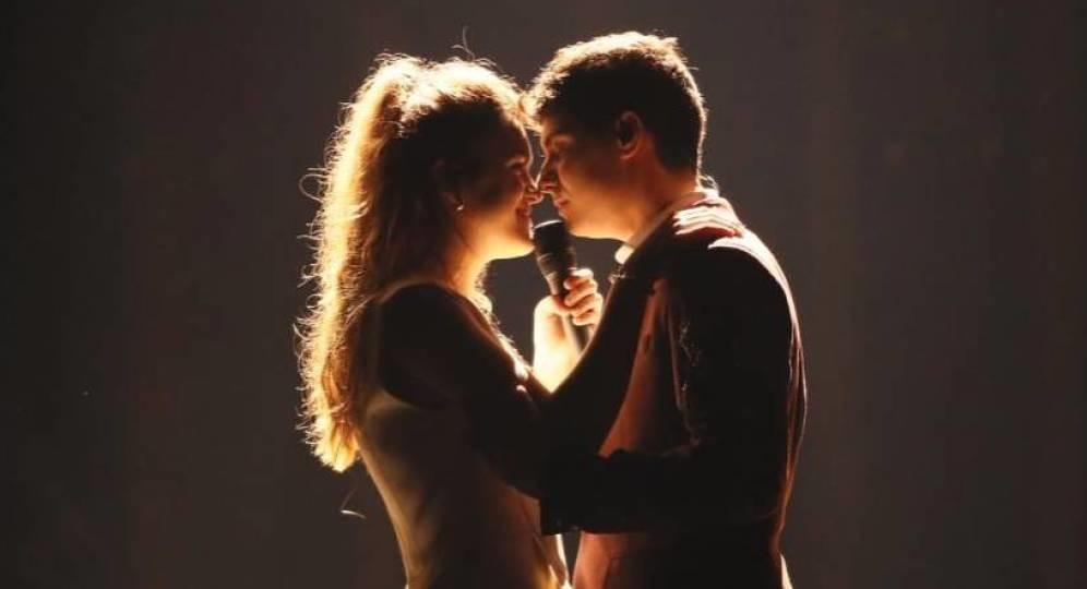 Foto de Alfred y Amaia, primeras imágenes de su ensayo en Eurovisión