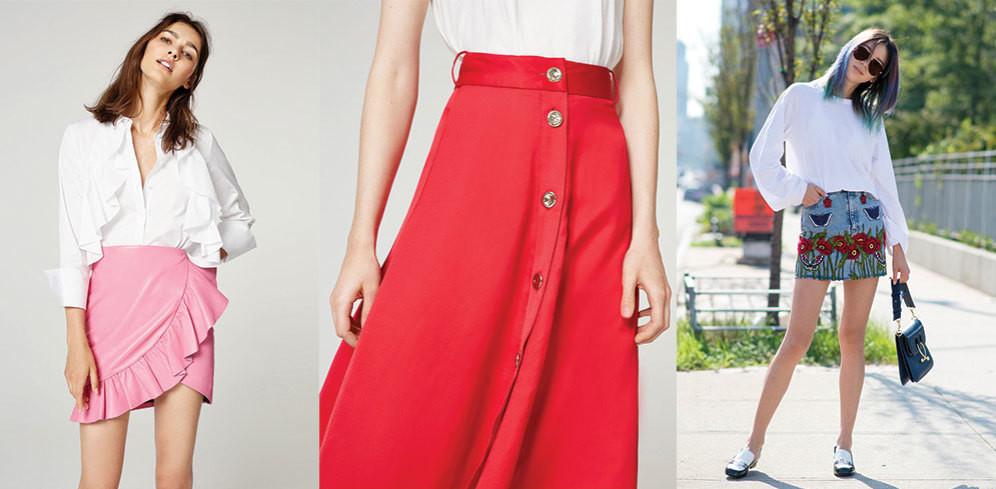 Los tres tipos de faldas quenecesitarás este verano