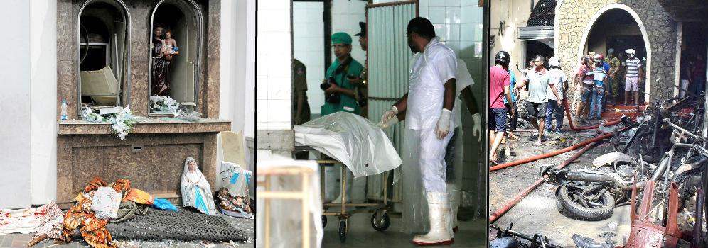 Foto de Al menos 207 muertos y 400 heridos en varias explosiones en Sri Lanka