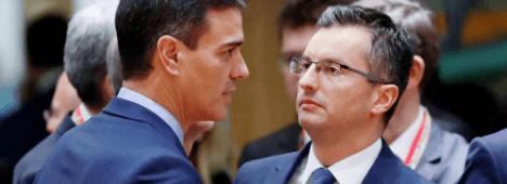 Foto de El primer ministro de Eslovenia apoya a Sánchez frente a las propuestas de Torra