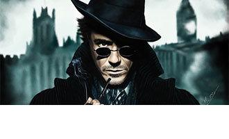 Foto de Sherlock Holmes,el primer friki