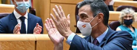Foto de Crisis institucionales: el covid, Cataluña y el bloqueo político gripan España