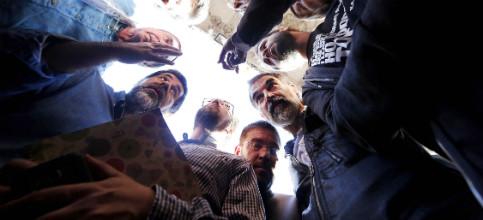 Foto de Jordi Sànchez era el major Trapero del 20-S: Tomaba decisiones y los mossos acataban